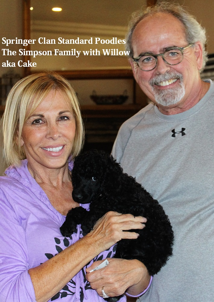 Scott & Linda Simpson with Willow aka Cake